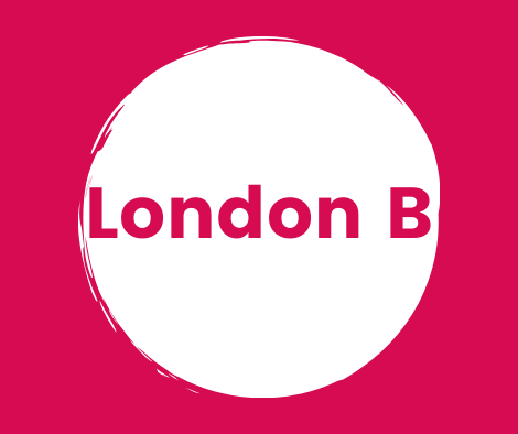 London B Button