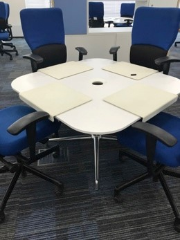 Steelcase Coalesse SW1 with white top