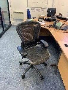 Non-Canvas Office Swivel Chair