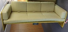 Coalesse Lagunitas Lounge seating, 3 seat with arms at both ends
