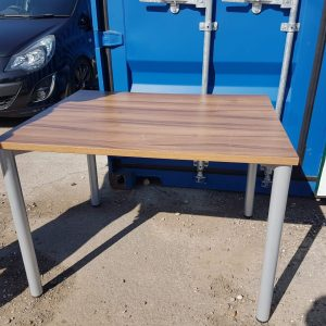 Small Wood Top Table (x1) - #RM15