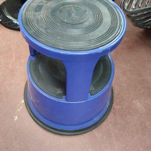 Blue Footstool (x1) - #RM15